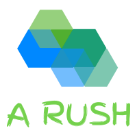 Logo for A Rush