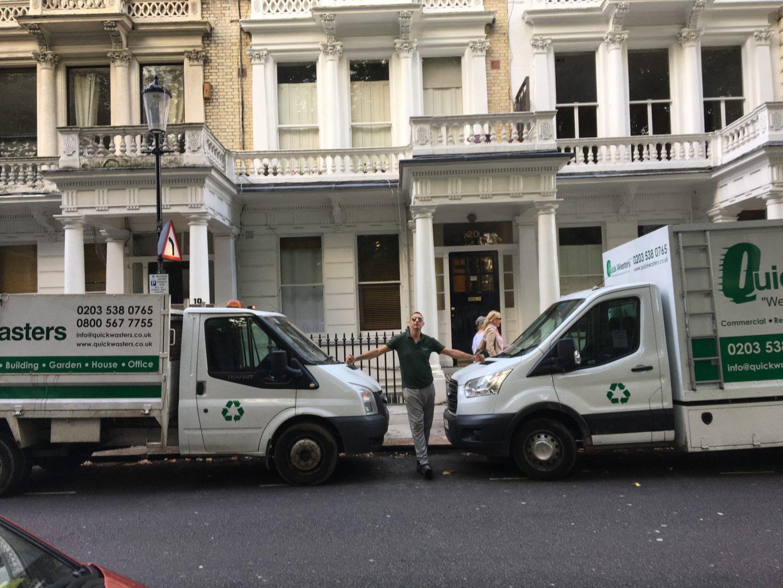 same day waste clearance london
